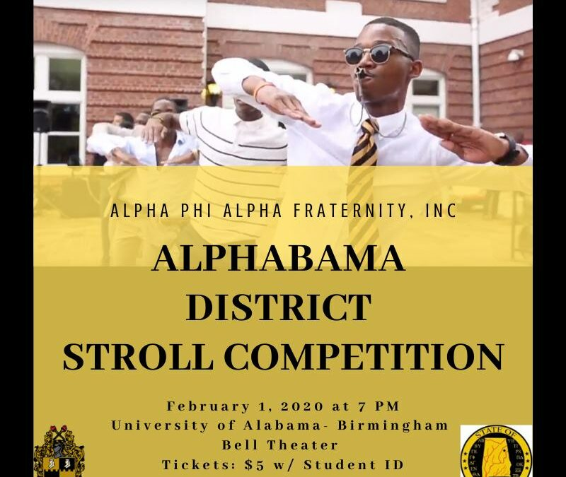 ALPHABAMA DISTRICT STROLL COMPETITION
